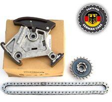 GENUINE Audi 2.0 TFSI Oil Pump Balance Shaft Sprocket Chain Kit 06F105243C