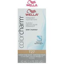 Wella Color Charm T27 Medium Beige Blonde Permanent Hair Toner