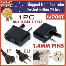 US USA EU EURO ASIA to AU AUS AUST AUSTRALIAN POWER PLUGs TRAVEL ADAPTER