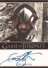 """Game of Thrones Season 4 - Ian Whyte """"Gregor Clegane"""" Autograph Card"""