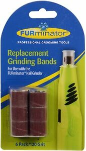 FURminator Nail Grinder Replacement Grinding Bands 6 Ct Pet Nail Trimmer Refill