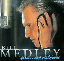 Damn Near Righteous by Bill Medley,NEW CD & DVD 2 SET,Brian Wilson,Phil Everly