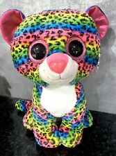 "Dotty Leopard Large 16"" TY Beanie Boos"