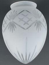 Lampenschirm Ersatzlampenschirm aus Glas  weiss Satiniert matt 293.076