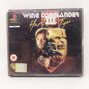 WING COMMANDER III 3  PLAYSTATION 1 PS1 PRIMA STAMPA