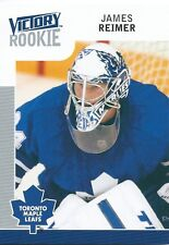 (HCW) 2009-10 Upper Deck Victory JAMES REIMER Rookie Maple Leafs UD RC NHL 00882