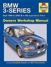 HAYNES MANUAL BMW 3-SERIES SEPT 1998-2003 S REGISTRATION ONWARDS PETROL