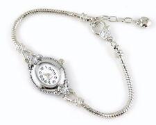 1pcs Charm Watch Snake Chain Bracelet Fit European Bead 20cm WP15