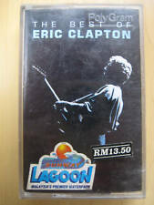 The Best Of Eric Clapton out of print Original Malaysia Edition Cassette tape