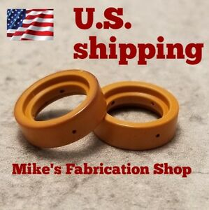 Two Swirl Rings For Use With Chicago electric 62204  Plasma Cutter IPT40 torch