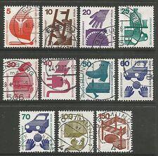 Berlin. 1971-74. prevenzione degli infortuni Set. SG: b396/406. usata bene.