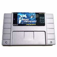 Space Megaforce SNES Super Nintendo USA NTSC video game cartridge
