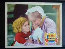 1936 DIMPLES - GREAT SHIRLEY TEMPLE LOBBY CARD IN NICE SHAPE - MUSICAL CHILDREN