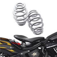 """3"""" Sitzfedern Set Universal Sattel-Federn Sitzfeder für Harley Honda Chopper USW"""
