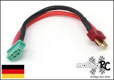 Male Männchen T-Connector zu Female Weibchen MPX Anschluss Adapter Stecker