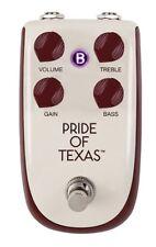 Danelectro Billionaire Overdrive Pride of Texas Effect Pedal BP-1