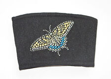 Coffee Cup Protector Butterfly Black for Paper Cup Avoid Burns Fabric New