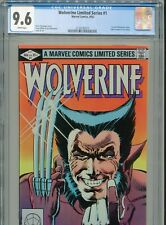 1982 MARVEL WOLVERINE LIMITED SERIES #1 1ST WOLVERINE SOLO COMIC CGC 9.6 BOX5