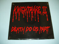 "KNIGHTMARE II Death Do Us Part 12"" vinyl album LP US metal private press"