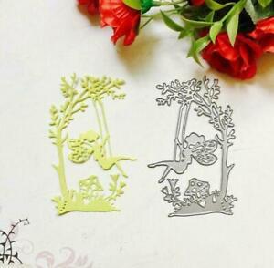Swing Girl Metal Cutting Dies Stencil DIY Scrapbooking Album Stamp Paper Card