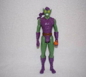 "Marvel Spider-Man Green Goblin Action Figure 12"" Titan Hero Hasbro 2014 XA58"