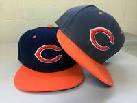 Chicago Bears Snap Back Cap Hat Embroidered Adjustable Flat Bill Chi Men