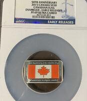 2015 Canadian Silver $50- 1.5oz NGC PF69 Ultra Cameo Bar