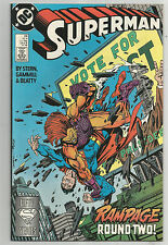 SUPERMAN # 24 * 1988 * RAMPAGE!