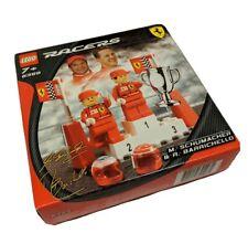 LEGO Racers Ferrari Michael Schumacher Rubens Barrichello (8389) NIB NEW
