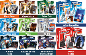 STAR WARS Playing Cards by Aquarius - 54 Unique Images!