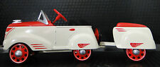 Pedal Car A Rare 1930s Ford w/ Trailer Vintage T Sport Midget Metal Model