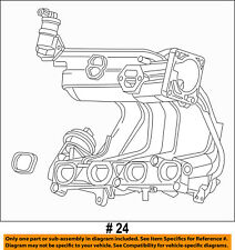 FORD OEM 01-03 Ranger 2.3L-L4 Engine-Intake Manifold 1L5Z9424A