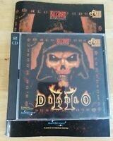 Diablo 2 (II) Jewell Case Edition PC CD ROM with manual. FAST + FREE POST