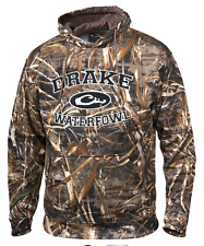 Drake Waterfowl Hoodie Collegiate Embroidered Hooded Sweatshirt Max 5 Camo DW224