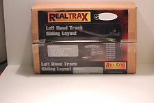 MTH RailKing Real Trax 40-1026 Left Hand Track Siding Layout 0-31 NIB H2F