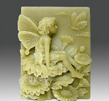 Angel Flower S084 Silicone Soap mold Craft Molds DIY Handmade soap mould