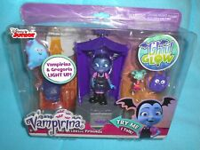 VAMPIRINA Figure Glowtastic Friends Set Ghoul Glow Lights & Sounds Halloween NEW