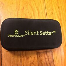 Provocraft Silent Setter  Grommet Eyelet  Original Zippered Storage Case + Extra