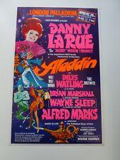More details for danny la rue wayne sleep alfred marks london palladium pantomime poster 1978