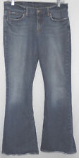 "LUCKY BRAND sz 8/29 ""SWEET N' LOW"" ZIPPER FLY BLUE JEANS meas 29""x 29"" (1204-10)"