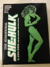 Marvel Graphic Novel #18 The Sensational She-Hulk by John Byrne 1985 1st Print