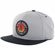 "REBEL8 ""Sun Burnt"" Snapback Hat (Grey/Black) Men's Patch Rebel Eight 8 Cap"