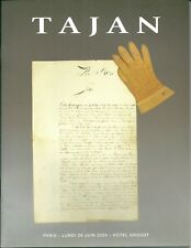 Catalogue de vente enchères Tajan Militaria Histoire figurine arme à feu blanche