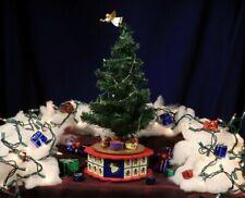 "Avon Rotating Musical Christmas Tree Advent Calendar 17"""