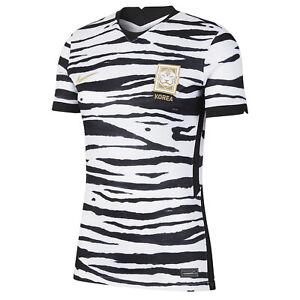 NIKE Womens KOREA Stadium Away Shirt Soccer Jersey - White Black - PICK SIZE