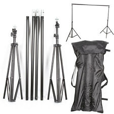 Collapsible Photography Background Stand Studio Muslin Backdrop Support Tripod
