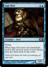 4 Sage Owl ~ Near Mint Magic 2010 M10 4x x4 Playset UltimateMTG Magic Blue Card