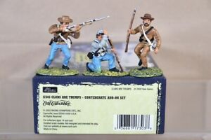 BRITAINS 17303 AMERICAN CIVIL WAR CONFEDERATE CLUBS are TRUMPS ADD ON SET nv