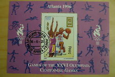 Olympics Used Sheet Stamps