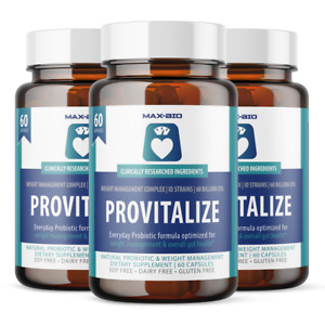 3 Month Provitalize Probiotic Weight Management  Sleep & Gut Support  (3 PACK)